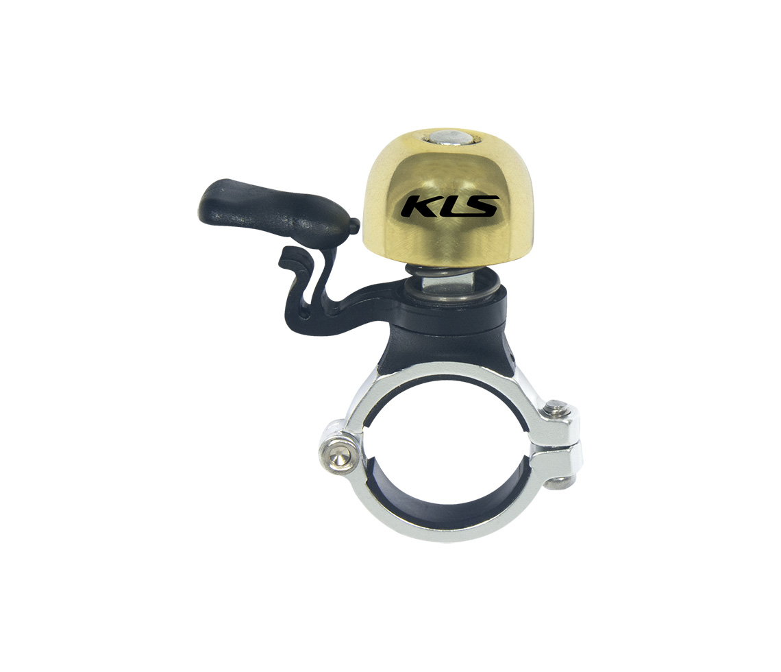 Bicycle bell KLS BANG 50 gold