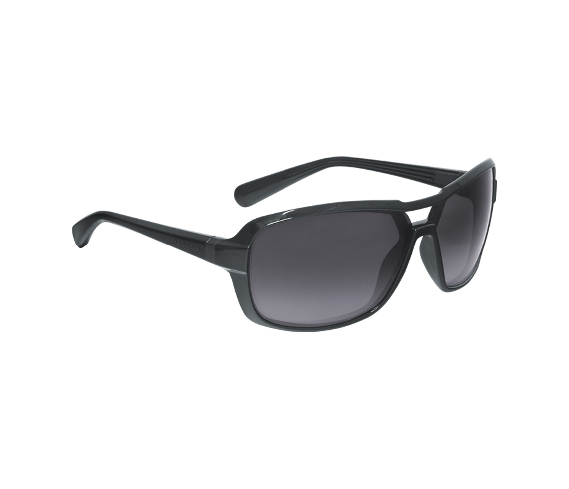 Sonnenbrille GLANCE - Shiny Black POLARIZED