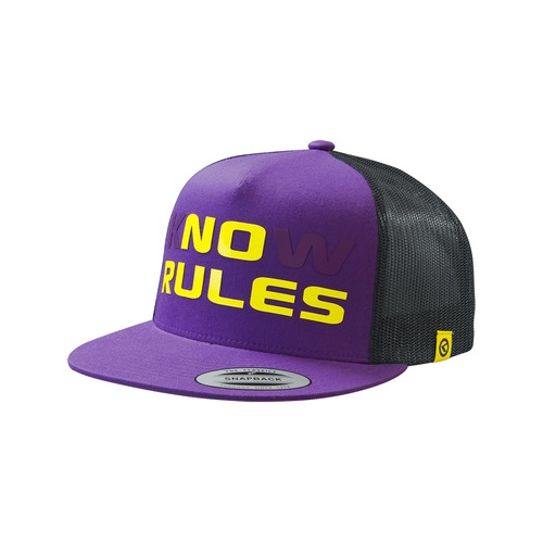 NO RULES purple