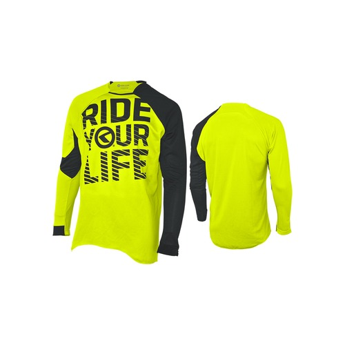 RIDE YOUR LIFE lime [long sleeve]