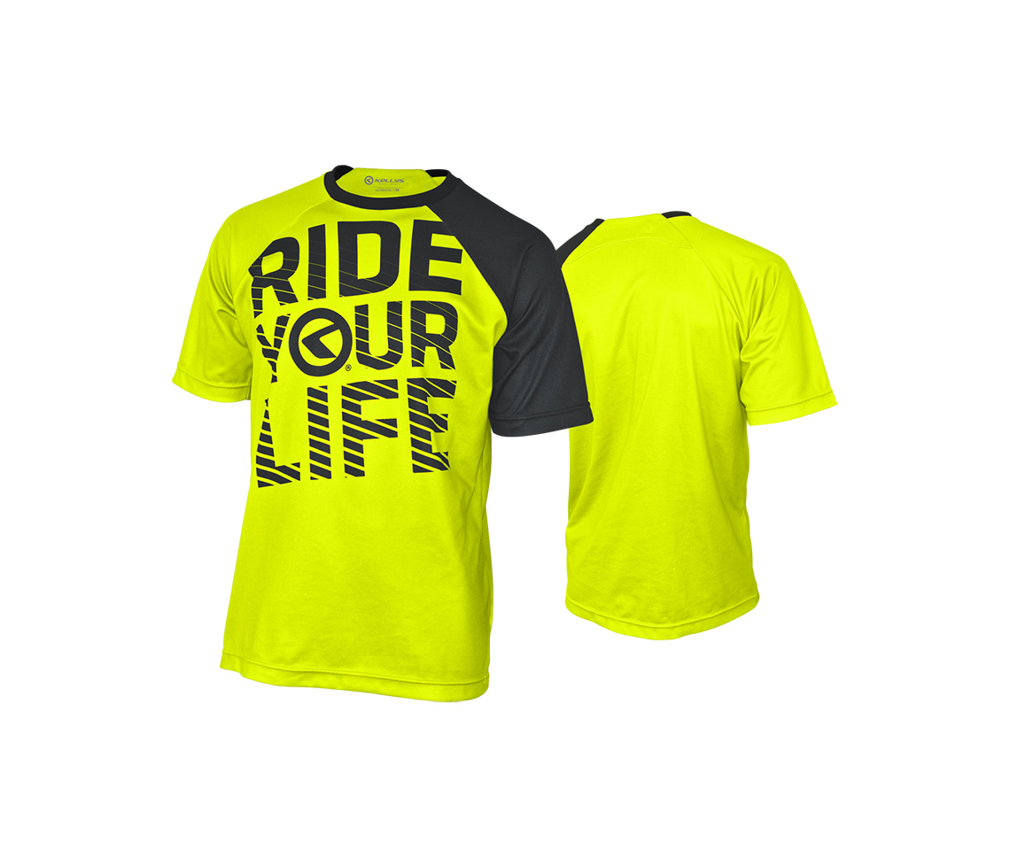 RIDE YOUR LIFE lime [rövid]