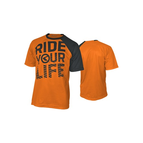 RIDE YOUR LIFE orange [krátký rukáv]