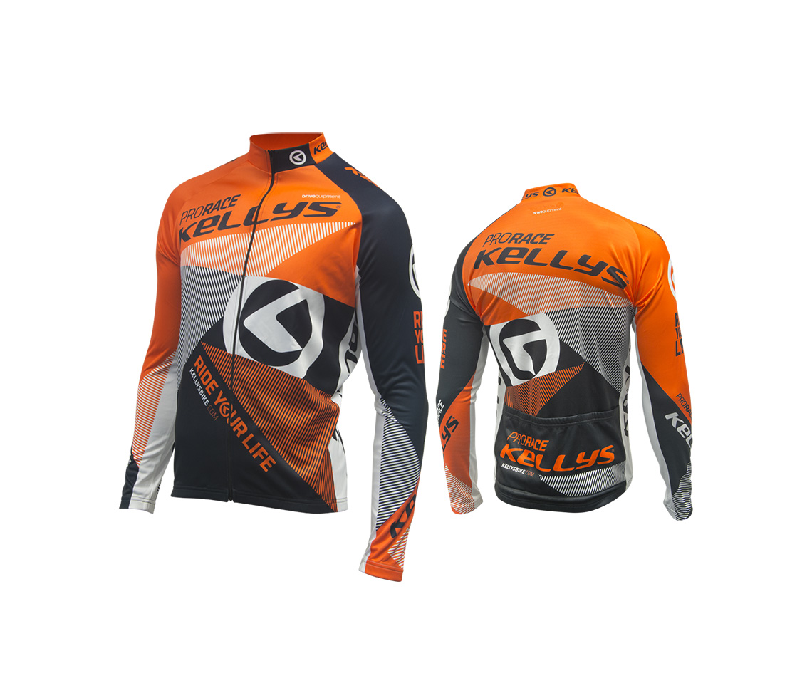 PRO RACE orange (016) [Langarmtrikot]