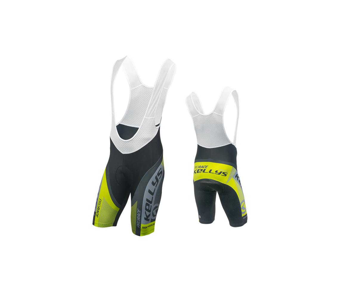 PRO RACE lime [with padding] (016)