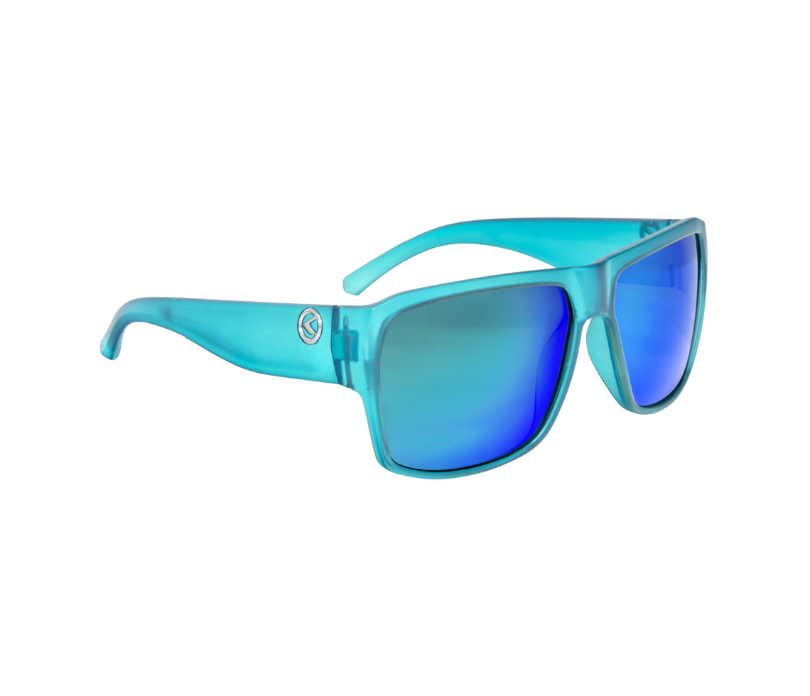 Sonnenbrille RESPECT- Matt Crystal Blue POLARIZED