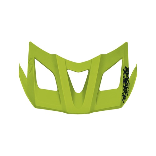 Spare visor for helmet RAZOR lime green