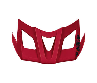 Spare visor for helmet RAZOR ruby red