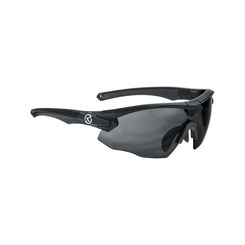 STRANGER MONO shiny black POLARIZED