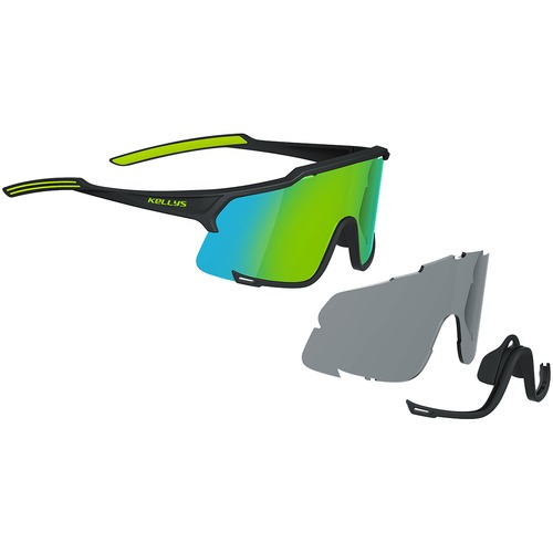 DICE PHOTOCHROMIC SHINY BLACK-LIME