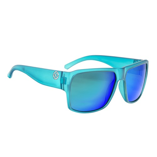 Sunglasses RESPECT- Matt Crystal Blue POLARIZED
