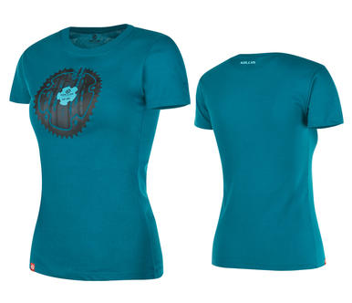 KELLYS WOMEN´S MOUNTAIN short sleeve Blue