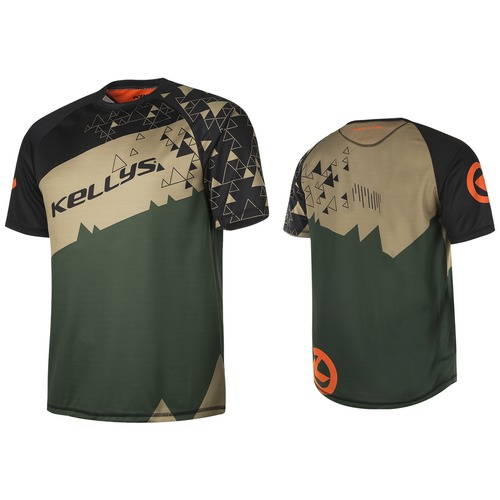 TYRION jersey short sleeve green