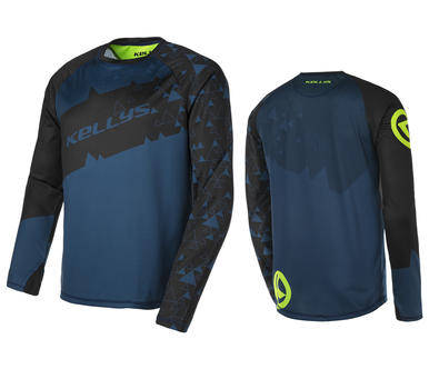 TYRION long sleeve jersey blue