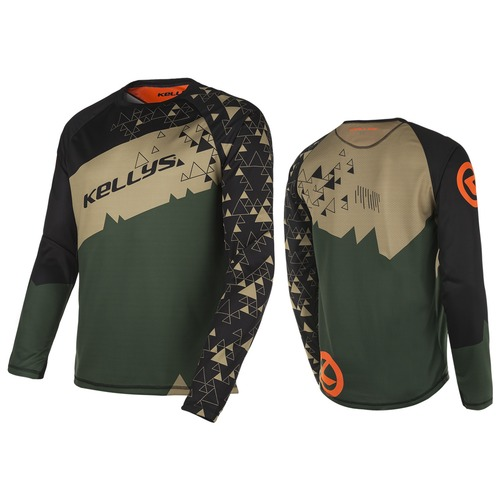 TYRION long sleeve jersey green