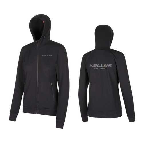 WOMEN´S CHROMATIC HOODIE black