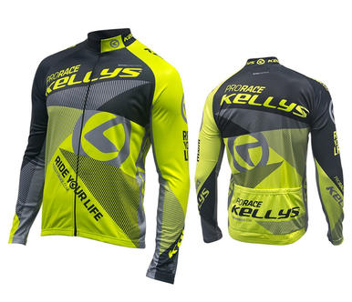 PRO RACE lime (016) [long sleeve]